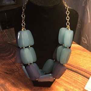 The Limited necklace blue and purple